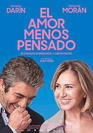 """Movie poster for """"EL AMOR MENOS PENSADO"""""""