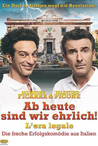"""Filmplakat für """"Ab heute sind wir ehrlich"""""""
