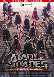 """Movie poster for """"SHINGEKI NO KYOJIN - SEASON 2- KAKUSEI NO HOKO"""""""