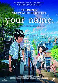 """Movie poster for """"YOUR NAME"""""""