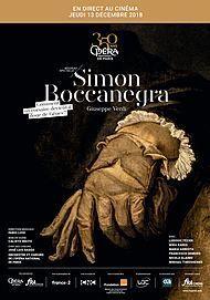 """Movie poster for """"SIMON BOCCANEGRA (OPERA DE PARIS/FRA CINEMA)"""""""