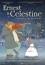 """Movie poster for """"ERNEST ET CELESTINE EN HIVER"""""""
