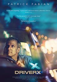 """Movie poster for """"DRIVERX"""""""