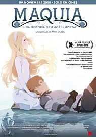 """Movie poster for """"MAQUIA: WHEN THE PROMISED FLOWER BLOOMS"""""""