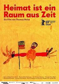 """Filmplakat für """"Heimat ist ein Raum aus Zeit"""""""