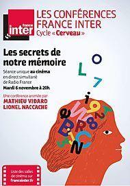 """Movie poster for """"LES SECRETS DE NOTRE MEMOIRE - CONFERENCE FRANCE INTER """""""