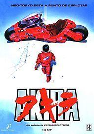 "Movie poster for ""AKIRA"""