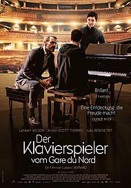 """Filmplakat für """"Der Klavierspieler vom Gard du Nord"""""""