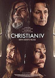 Plakat for Christian IV - Den sidste rejse
