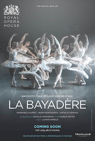 "Movie poster for ""LA BAYADERE (ROYAL OPERA HOUSE)"""