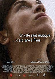 """Filmplakat für """"UN CAFE SANS MUSIQUE C'EST RARE A PARIS"""""""