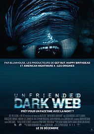 "Movie poster for ""UNFRIENDED: DARK WEB"""