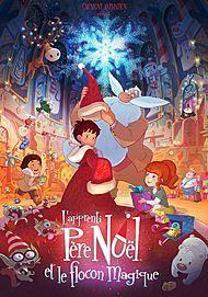 """Movie poster for """"L'APPRENTI PERE NOEL ET LE FLOCON MAGIQUE"""""""