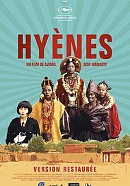 """Movie poster for """"HYENAS"""""""