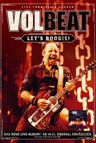 """Filmplakat für """"Volbeat - Live From Telia Parken"""""""