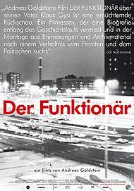 """Filmplakat für """"Der Funktionär"""""""