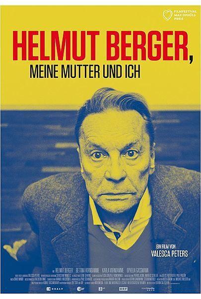 """Movie poster for """"Helmut Berger, meine Mutter und ich"""""""