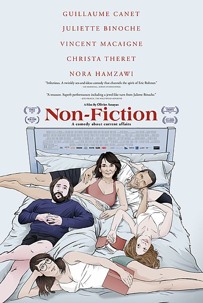 """Movie poster for """"NON-FICTION"""""""