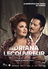 """Movie poster for """"CILEA : ADRIANA LECOUVREUR"""""""