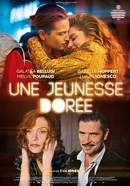 "Movie poster for ""UNE JEUNESSE DOREE"""