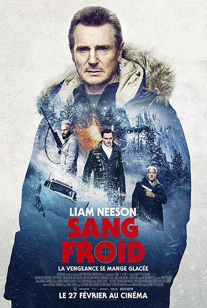 "Movie poster for ""COLD PURSUIT"""