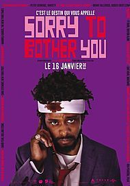 """Movie poster for """"SORRY TO BOTHER YOU"""""""