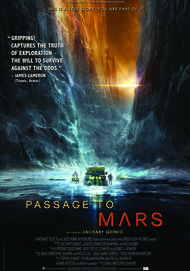 "Movie poster for ""PASSAGE TO MARS"""