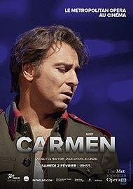 "Movie poster for ""CARMEN - MET OPERA LIVE 2019"""