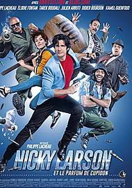 """Movie poster for """"NICKY LARSON ET LE PARFUM DE CUPIDON"""""""