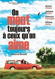 """Movie poster for """"ON MENT TOUJOURS A CEUX QU'ON AIME"""""""