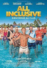 "Movie poster for ""ALL INCLUSIVE"""