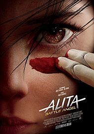 "Movie poster for ""ALITA: BATTLE ANGEL"""