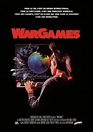 "Movie poster for ""WAR GAMES"""