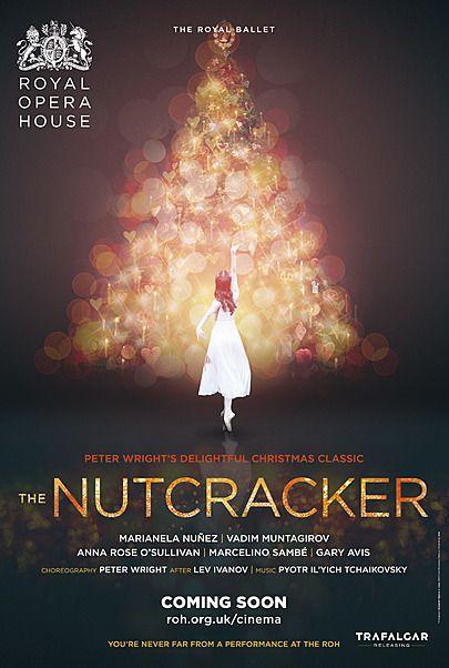 "Movie poster for ""THE NUTCRACKER 2018 - ROYAL OPERA HOUSE"""