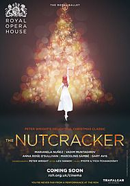 "Movie poster for ""THE NUTCRACKER 2018 - ROYAL OPERA HOUSE"""
