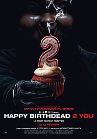 "Movie poster for ""HAPPY DEATH DAY 2U"""