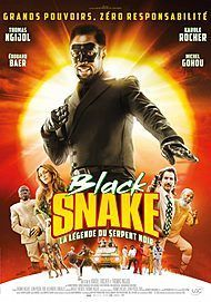 "Movie poster for ""BLACK SNAKE, LA LEGENDE DU SERPENT NOIR"""