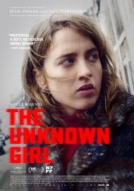 "Movie poster for ""THE UNKNOWN GIRL"""
