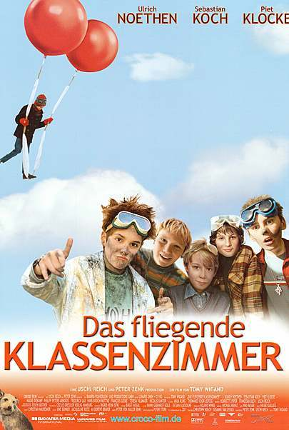 """Filmplakat für """"Das fliegende Klassenzimmer (WA)"""""""