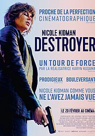 "Movie poster for ""DESTROYER"""