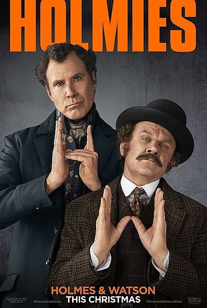 """Movie poster for """"HOLMES & WATSON"""""""