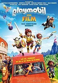 """Filmplakat für """"Playmobil - The Movie - Filmstart in Österreich"""""""