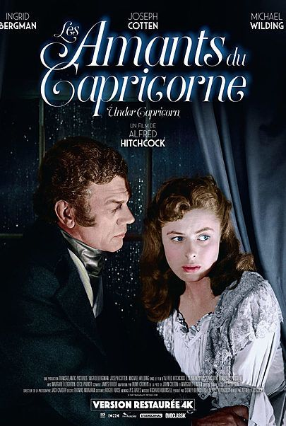 "Movie poster for ""UNDER CAPRICORN"""
