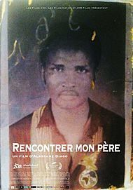 "Movie poster for ""RENCONTRER MON PERE"""