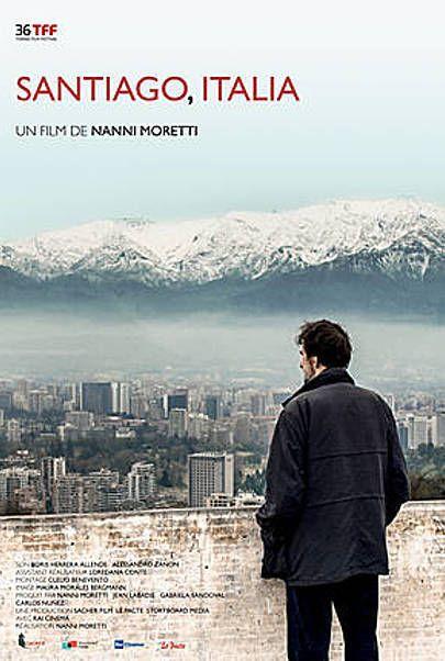 """Movie poster for """"SANTIAGO, ITALIA"""""""