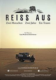 """Filmplakat für """"Reiss Aus - Zwei Menschen. Zwei Jahre. Ein Traum."""""""