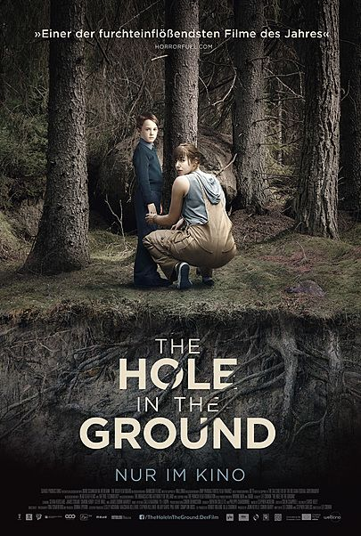 "Filmplakat für ""THE HOLE IN THE GROUND"""