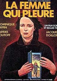 """Movie poster for """"LA FEMME QUI PLEURE"""""""