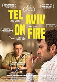 """Affiche du film """"TEL AVIV ON FIRE"""""""