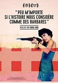 "Movie poster for """"I Do Not Care, If We Go Down in History as Barbarians"""""
